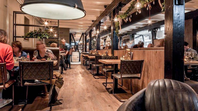 Het restaurant - Stadscafe Double A, Groningen