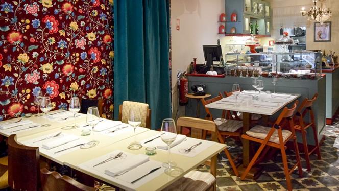 Sala do restaurante - Clube Royale Restaurante Bar, Lisboa