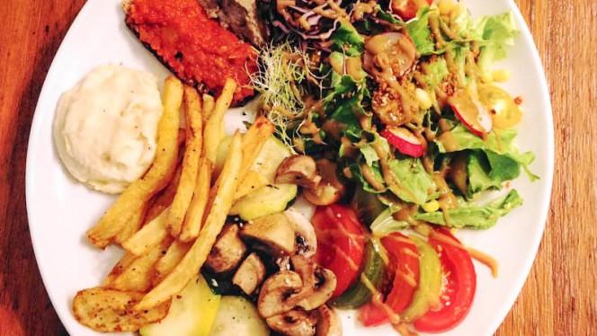 Assiette végétarienne - Le Pitchoun, Toulouse