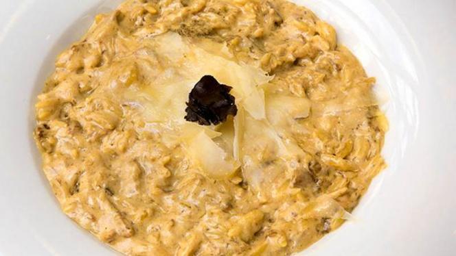 Risotto de trigo con setas y parmesano - Avanti, Benidorm
