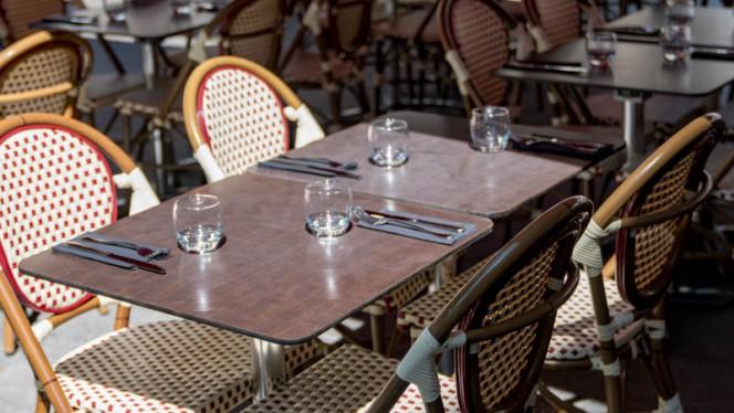 Terrasse - Le New York, Bordeaux