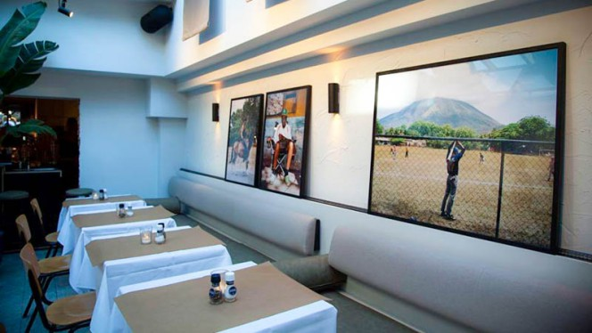 Het restaurant - Sous Bar-Bistro, Amsterdam