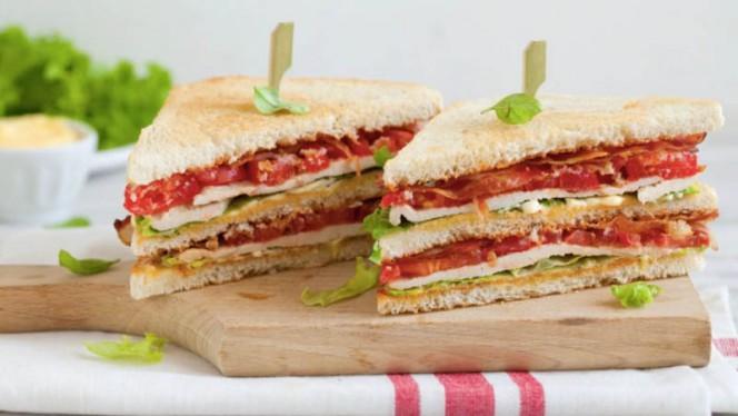 Club sandwich - Gezin Pub, Rome