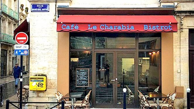 Devanture - Le Charabia, Bordeaux