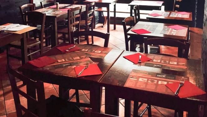 Particolare tavolo - Pepe Nero, Milano