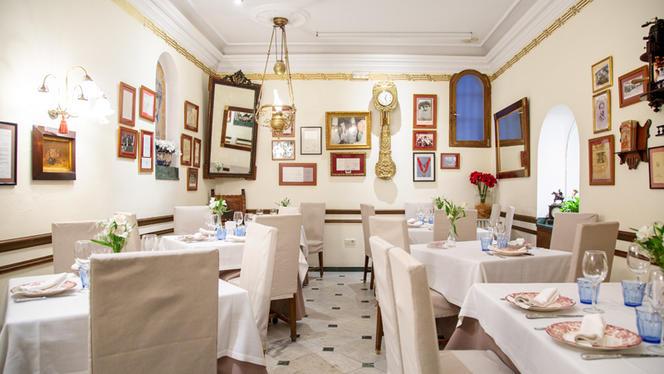 Vista sala - Taberna del Alabardero Madrid, Madrid