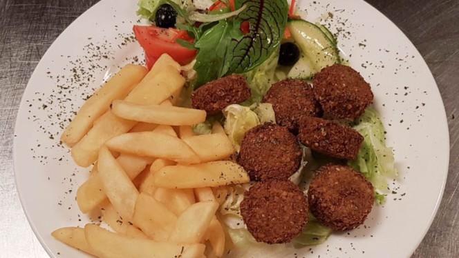 Falafel Met Friet of Rijst en Salade - La Santa Maria International Dinner, Amsterdam