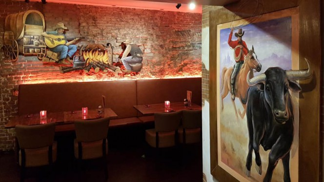 Restaurant - La Santa Maria International Dinner, Amsterdam