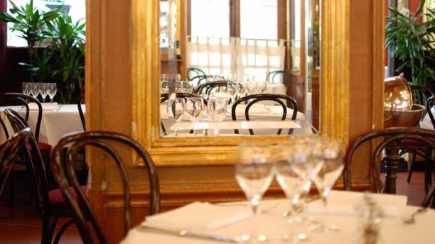 Détail de décoration - Le Bistrot de Paris, Paris
