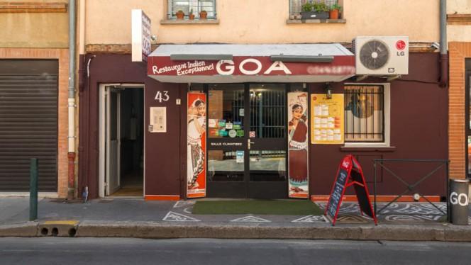 Devanture - Le New Goa, Toulouse