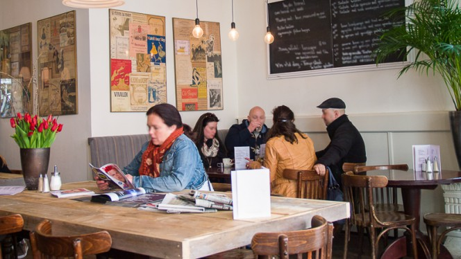 restaurantzaal - Teun Eat, Drink & Sleep, Amsterdam