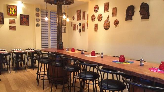 Salle du restaurant - Passion Guarani, Paris