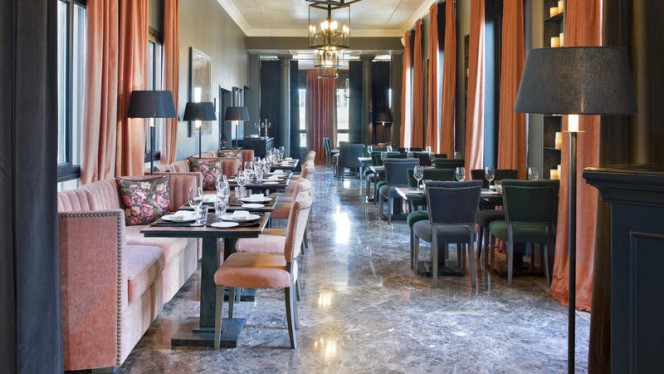 Vista sala - Ático by Ramon Freixa - The Principal Madrid Hotel, Madrid
