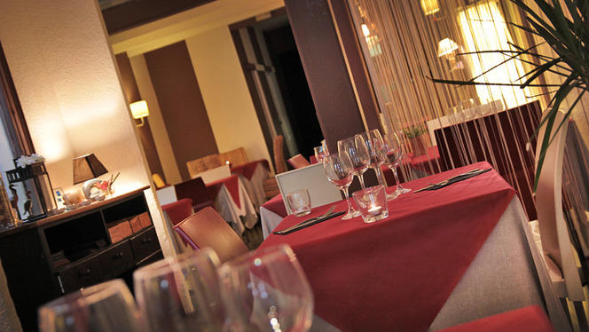 detalle mesa - Fénix Lounge, Barcelona