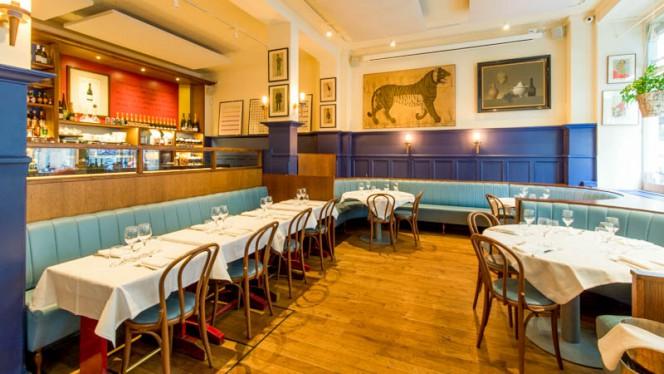 Vue de l'intérieur - L'Entente Le British Brasserie, Paris