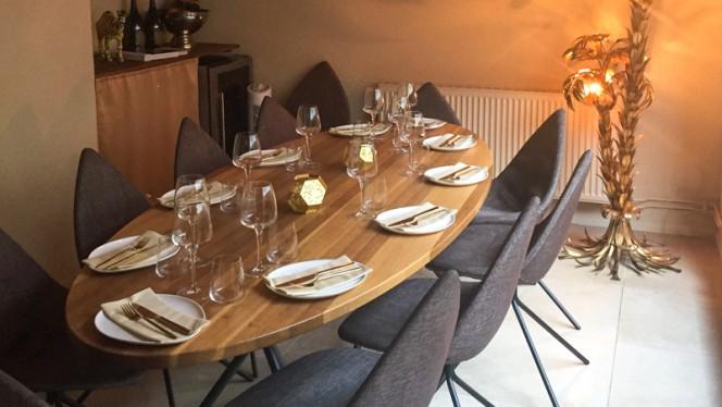 Restaurangens rum - Occo, Malmö