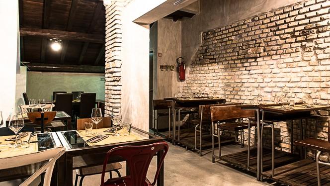 Disposizione tavoli sala - Azienda Cucineria, Rome