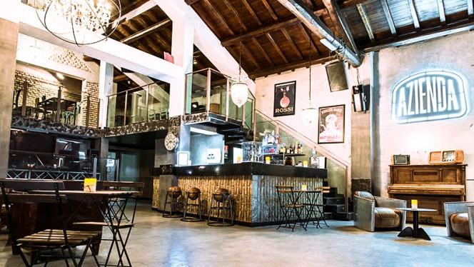 La sala - Azienda Cucineria, Rome