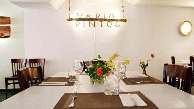 Vista mesa - Variopintos, Madrid