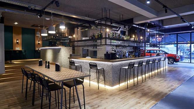 Le comptoir bar & tapas - Declercq Café-Garage,
