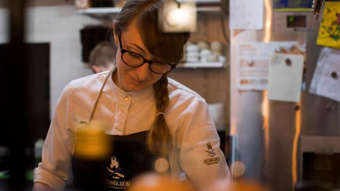 La Chef en action - Cromagnon, Bordeaux