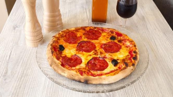 Pizza chorizo - Parma Pizz & Lasagnes, Aix-en-Provence