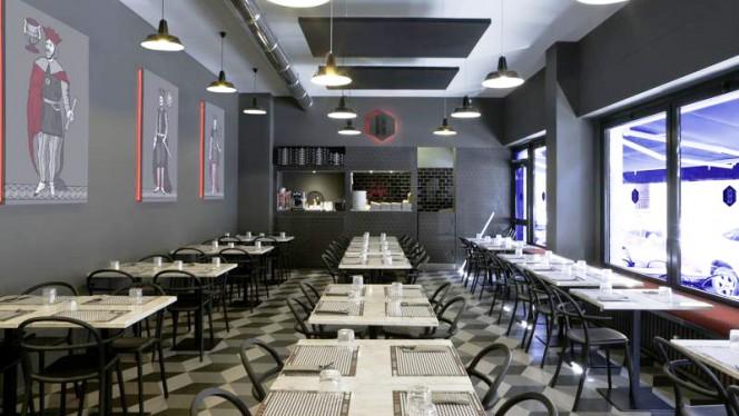Vista della sala - Briscola Pizza Society - Porta Romana, Milano