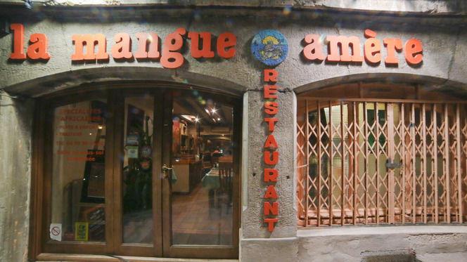 Devanture de La mangue amère - La Mangue Amère, Lyon