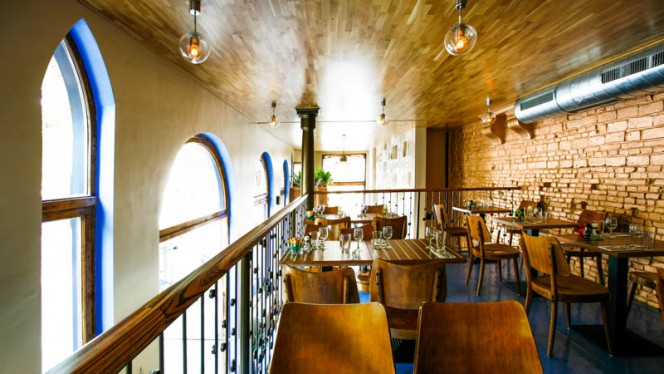 restaurantzaal - The Golden Brown Bar, Amsterdam