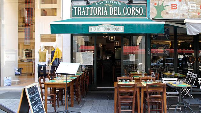 Esterno - Trattoria del Corso, Milan