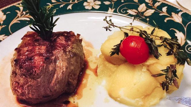 carne con patate - B-Floor, Milan