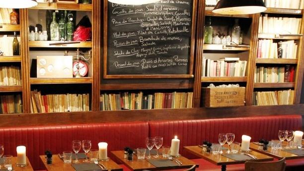 Salle du restaurant - Andrea - Le Clan des Mamma, Paris