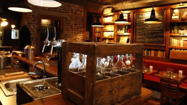 Aperçu du bar - Andrea - Le Clan des Mamma, Paris