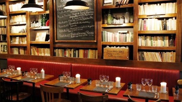 Tables dressées - Andrea - Le Clan des Mamma, Paris