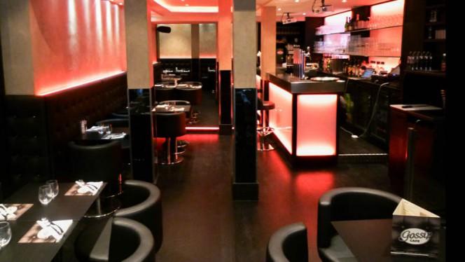 Vue de la salle - Gossip Café, Paris