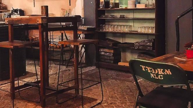 Vista da sala - Cookery Food Bar, Porto