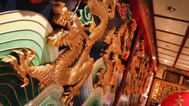 detalle dragón decorativo - Ta-Tung, Barcelona