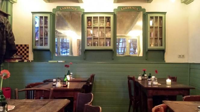 Het restaurant - Gambrinus, Amsterdam