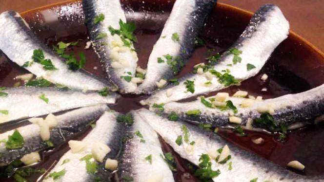 Sardinas en vinagre - La Cuchara del Puerto,