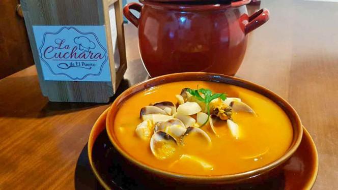 Sopa de marisco - La Cuchara del Puerto,