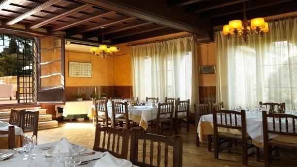 Vista sala El Romanic - La Font de Prades, Barcelona