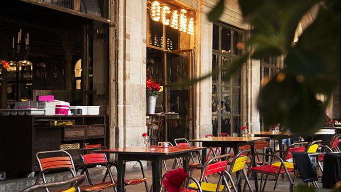 Terraza - Ocaña Café, Barcelona