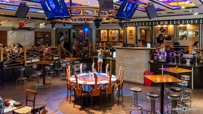 Interno - Rock Star Restaurant,