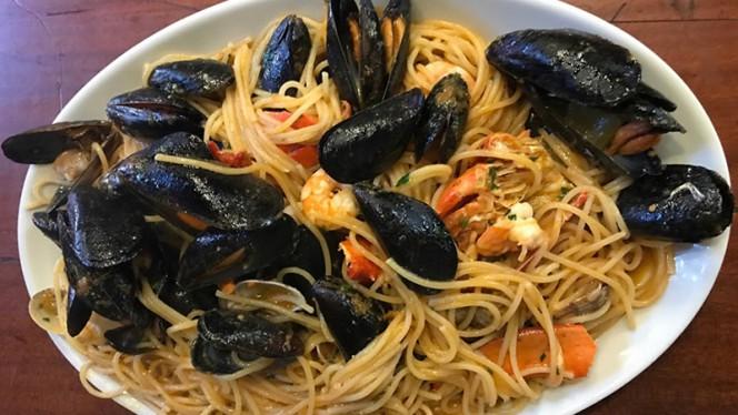 Proposta del menu - L'Isola del Gusto, Milan