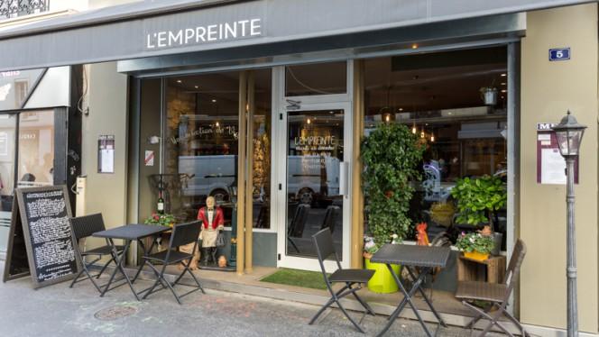 Devanture - L'Empreinte, Paris