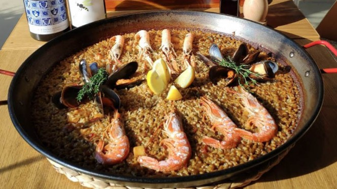 Sugerencia del chef - Cala Rossita, Barcelona