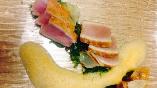 Sugerencia de plato - Gastroteka Danontzat, Hondarribia