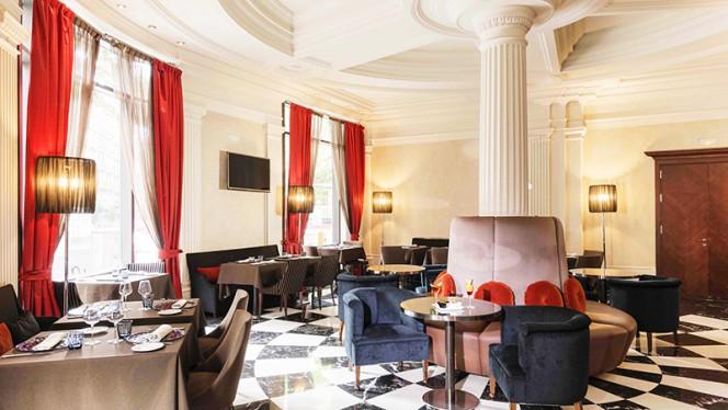 Vista sala - Balmes 103 - Hotel Barcelona Center, Barcelona