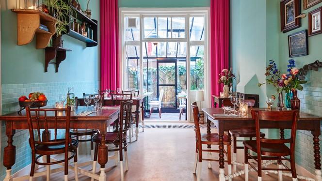 Het restaurant - Marits Eetkamer, Amsterdam