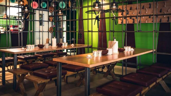 Restaurangens rum - Imobo, Göteborg